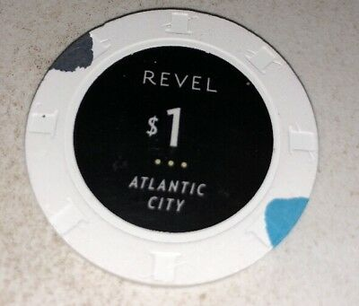 Revel $1 Casino Chip Atlantic City New Jersey 2.99 Shipping