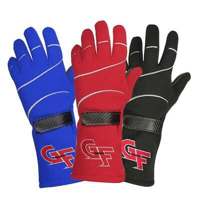 G-FORCE Racing Gloves G6 Fire-Resistant Nomex SFI 3.3/5 Rated