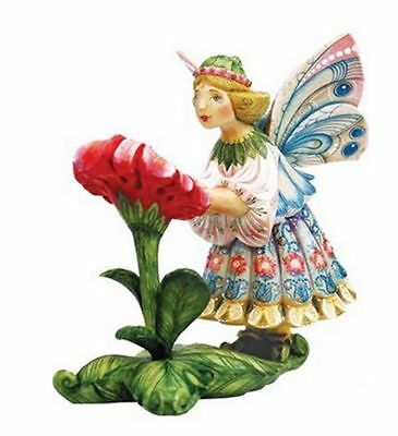 "G.DeBrekht ARTISTIC STUDIOS ""IRIS"" DREAM SPINNER FAIRY COLLECTION NIB"
