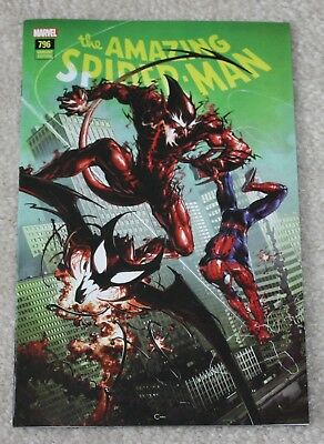 Amazing Spider-Man 796 Clayton Crain Connecting Variant First Red Goblin Cover!