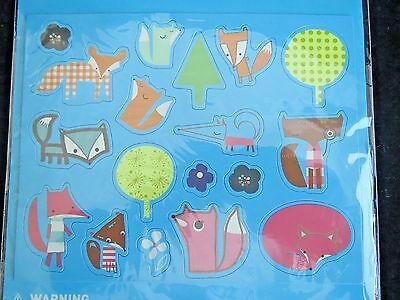 Fox Magnets Paperchase Foxy Friends Magnet NEW