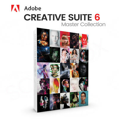 Adobe CS6 Master Collection Creative Suite 6, Englisch Windows Vollversion