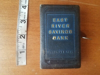 East River Savings Bank New York 1920's Still Piggy Bank, John Nutry