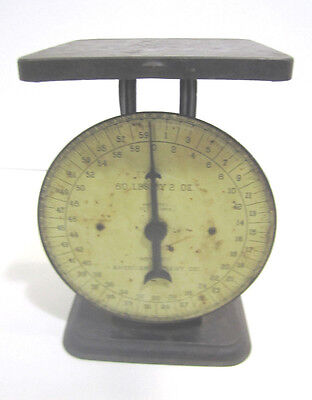 Vtg American Cutlery Scale 60 Pound Patent 1912 General Store Hardware