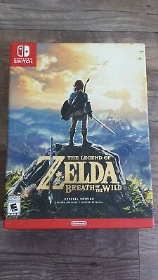 Legend of Zelda: Breath of the Wild Special Edition - Game & Extras - Sealed Box
