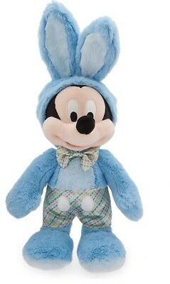Official Disney Store Mickey Mouse Easter Bunny 2018 Soft Toy Plush BNWT