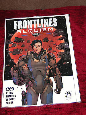 Frontlines Requiem #1 (of four) Signed by Gary Erskine NM 1st print
