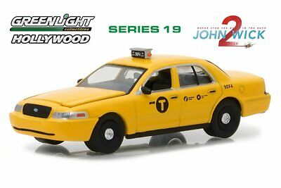 1:64 HOLLYWOOD SERIES 19 JOHN WICK 2011 DODGE CHARGER 44790-E