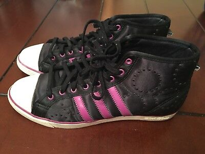 ADIDAS NIZZA MID Sleek Series Shoes BlackViolett 404729