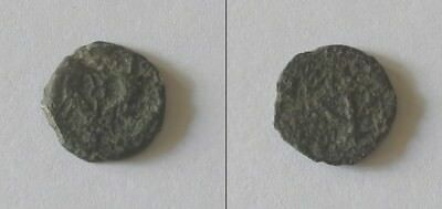 Ancient Roman Coin from the Holy Land - Herod the Great - Prutah 40-4 BCE
