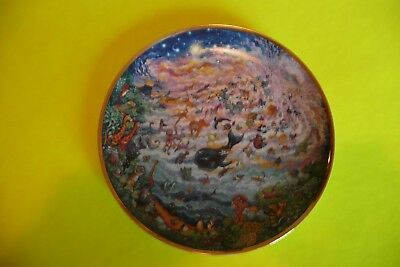 Franklin Mint :: In The Beginning :: Decorative  Plate by:: Bill Bell