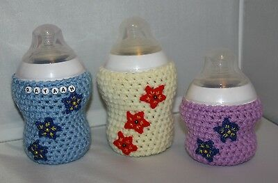 Crochet baby bottle COVER for Tommee Tippee/ NUK/ AVENT/ MAM/ DrBrown/ Munchkin