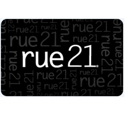 Rue 21 Gift Card - $25 or $50 - Email delivery