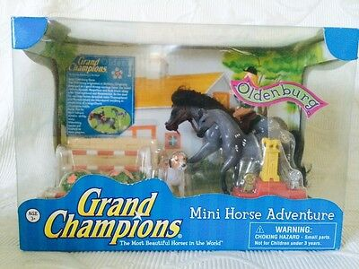 Empire Toys Grand Champions Mini Horse Adventure Oldenburg  51005 2008 New HTF