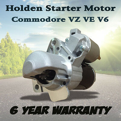 New Vz Ve Holden Commodore Wl Wm Statesman V6 3.6L Starter Motor Heavy Duty