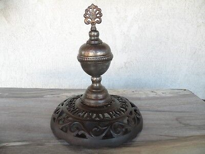 Cole's Original Hot Blast Finial with Cast Iron Base