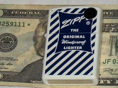 NEW USA Made Genuine 29413 ZIPPO the Original Windproof Lighter White Matte Case