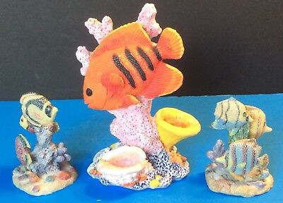 Coral Fish Figurines