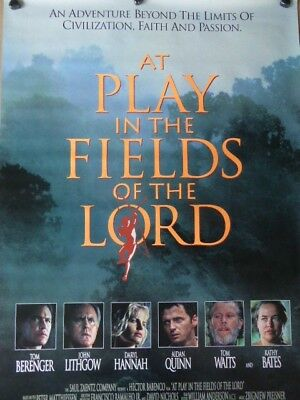 AT PLAY IN THE FIELDS OF THE LORD movie poster