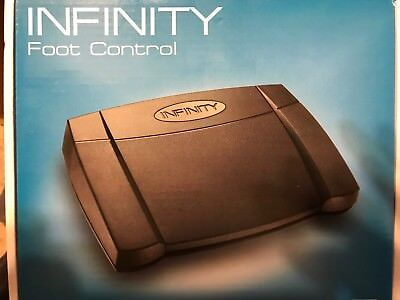 Infinity Foot Control IN-USB-2 brand new never used for transcription control