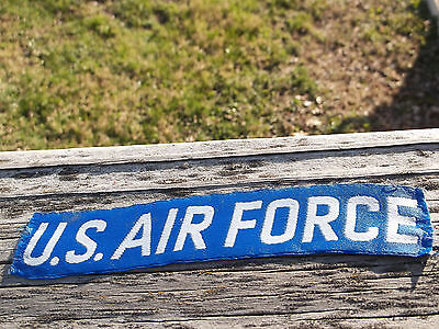 """Vintage 1970's Fatigues 6"""" US Air Force Cloth Tape - Used"""