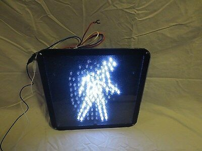 "LEOTEK LED Walk Don't Walk Traffic Signal Pedestrian Light 12"" x 12"" NEW in box"