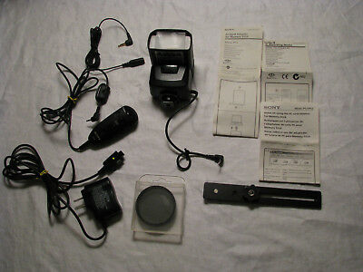 Group of Sony & Samsung Camera Flash Attachment, Cords & Adapters