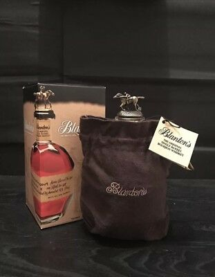 BLANTON'S BOURBON WHISKEY RARE COLLECTIBLE sealed Buffalo Trace pappy Weller