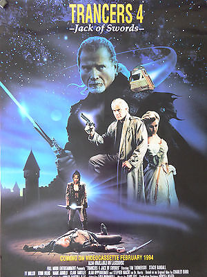 Full Moon Entertainment TRANCERS 4 poster