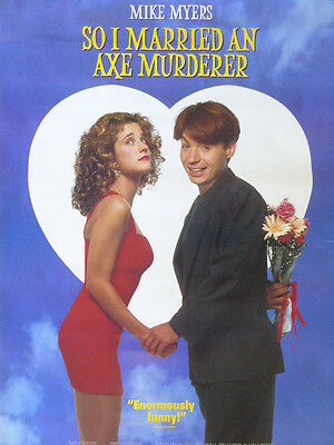 Mike Myers SO I MARRIED AN AXE MURDERER poster