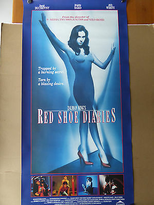 RED SHOE DIARIES movie poster - RARE!!