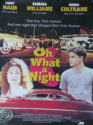 Corey Hiam OH, WHAT A NIGHT movie poster