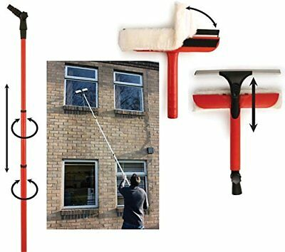 Window Cleaning Washing Set Equipment 3.4 Extension Pole Telescopic ...