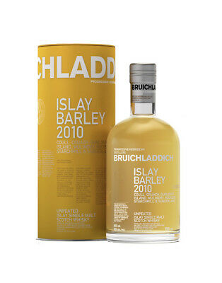 2010 Bruichladdich Islay Barley Unpeated Single Malt Scotch Whisky 700ml @ 50...