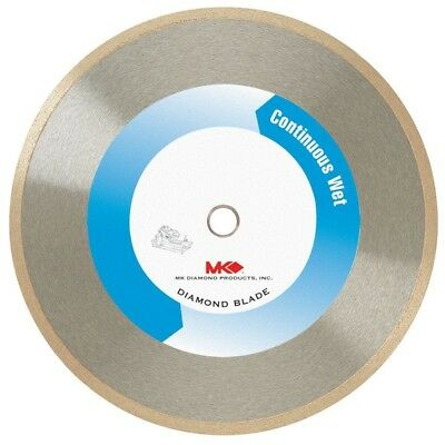 WET CUTTING BLADE 7 in Continuous Rim Diamond Cut Ceramic Tile Marble Power Tool