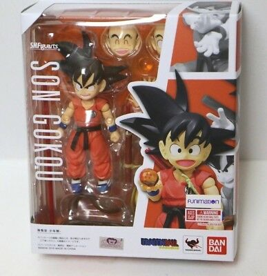 Bandai SH Figuarts Dragonball Z Super GT Kid Son Goku Action Figure In Stock USA