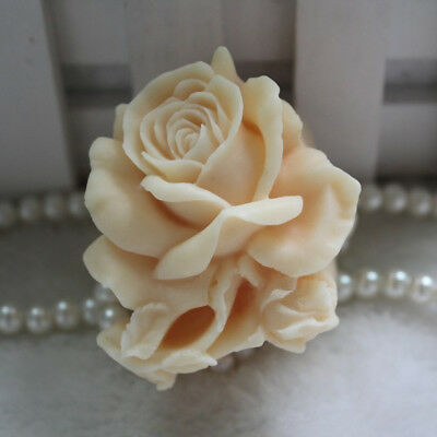 3D Rose Silicone Soap Candle Mold Soap Making Mould DIY Handmade Mold
