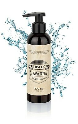 (7,95€/100ml) Wildwuchs Bartpflege - Bartshampoo HAVANNA - 200 ml Bartseife Wash