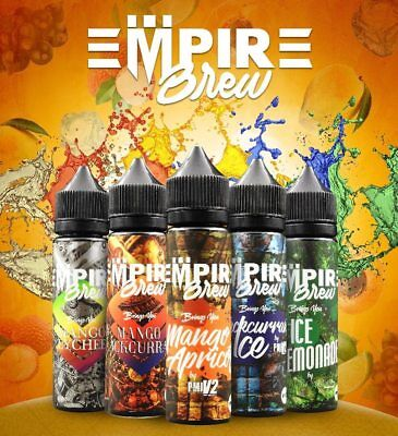 E-Liquid Empire Brew 50 ml Short Fill 0MG Nicotine (+/- Nic Shot) 3 New Flavours