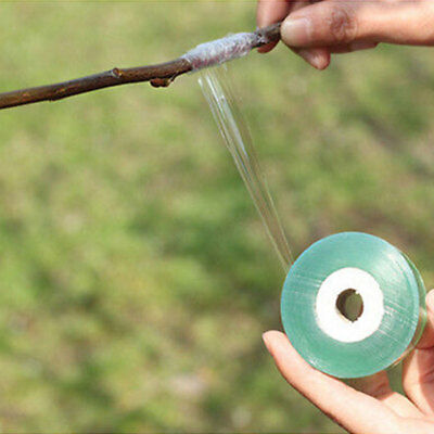 100M Grafting Tape Stretchable Self-Adhesive For Garden Tree Seedling Fad Nice