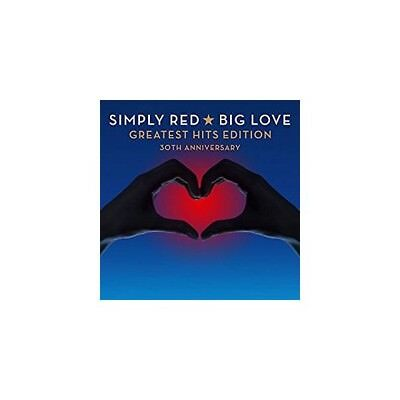 Cd Simply Red Big Love Greatest Hits 30Th Anniversary 9397601005581