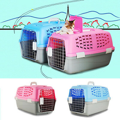 Pet Dog Cat Carrier Portable Tote Crate Kennel Travel Carry Bag