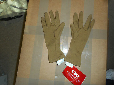 NWT OR Outdoor Research Hurricane Gloves COYOTE TAN * MEDIUM * Style 72600 * NWT