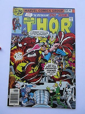 1976 The Mighty Thor # 250, Very Fine Condition,  Mangog And Ragnarok