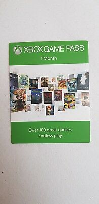 Xbox Game Pass 1Monat/Month (1 Card)