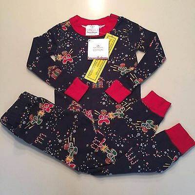 HANNA ANDERSSON Awesome Boy's/Girls Cotton Pajama Set, 2-3 years,90 cm NEW!!