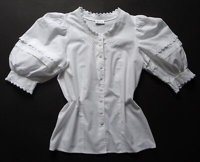 German Bavarian Cotton Puffy Sleeved Blouse 6