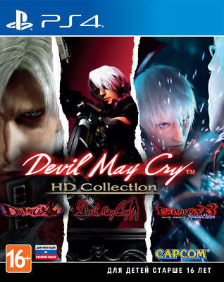 Devil May cry HD collection (PS4, 2018) Eng,Ger,Japanese,Italian,French,Spanish