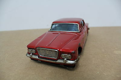 Bandai Japan Plymouth Valiant 1961 Friction old Blech Tin Model 21 cm
