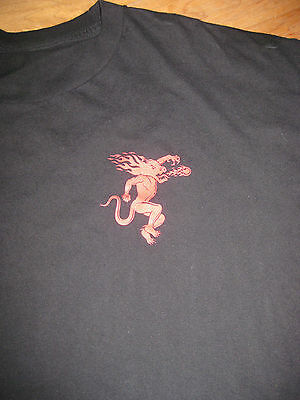 Fireball Cinnamon Whisky Whiskey Men's  Bartender logo Shirt XL rare Promo OOP